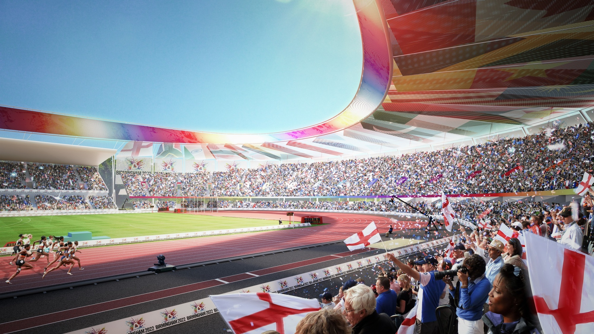Ready For The Handover - Birmingham Takes Commonwealth Games 2022
