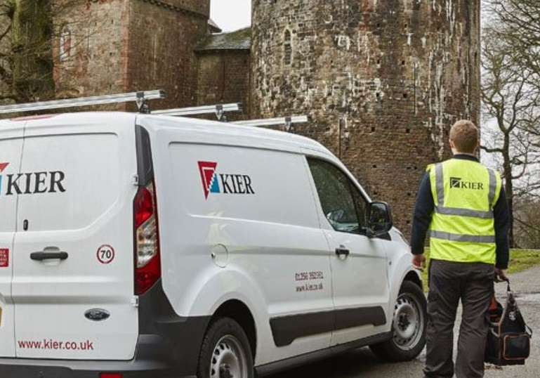 Revenues rise with Kier Group 'performing well'
