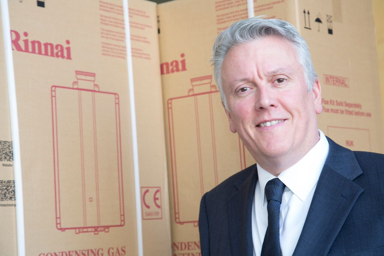 Rinnai's MD Tony Gittings