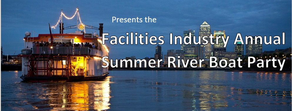 Facilities Industry Annual Summer River Boat Party 2017 - Promotional Flyer