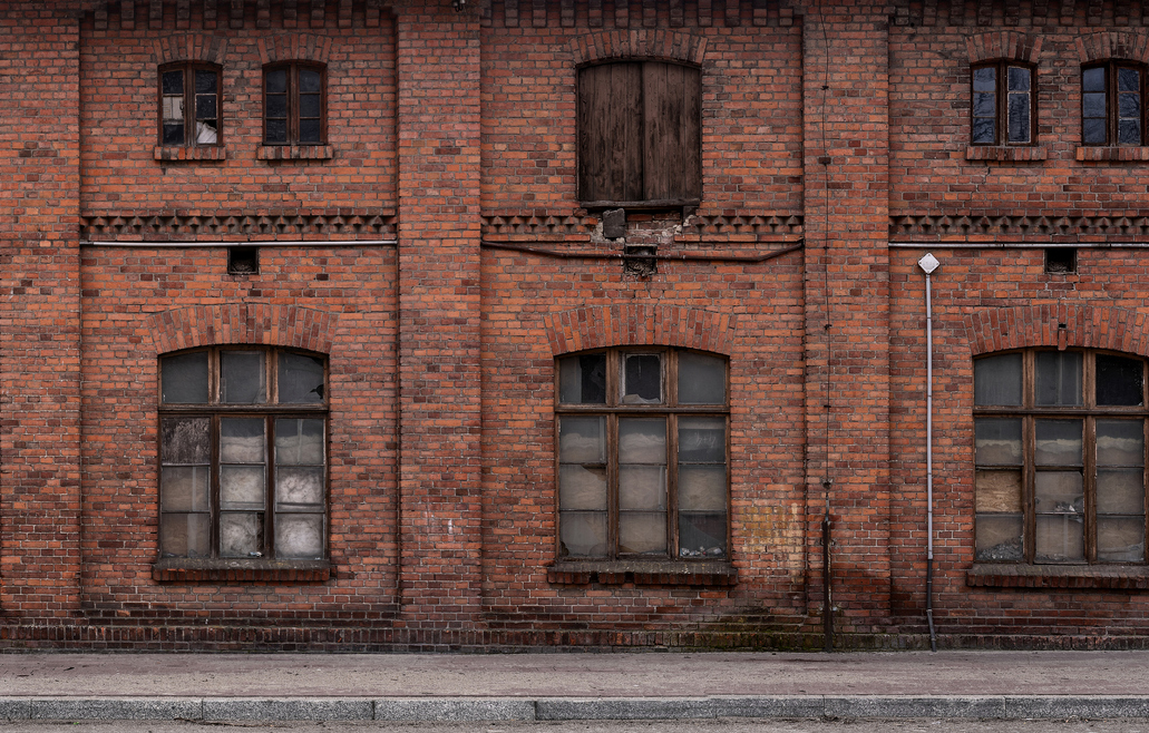 Typical commercial and residential properties in the north of England that could be refurbished.