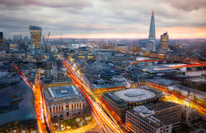 13 businesses are developing innovative solutions for the UK's urban infrastructure, energy and transport challenges