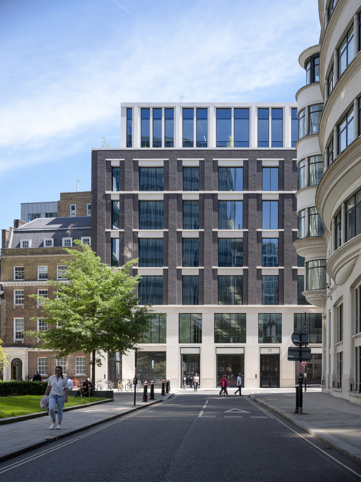 Newly-Completed 77 Coleman Street Welcomes First Tenant