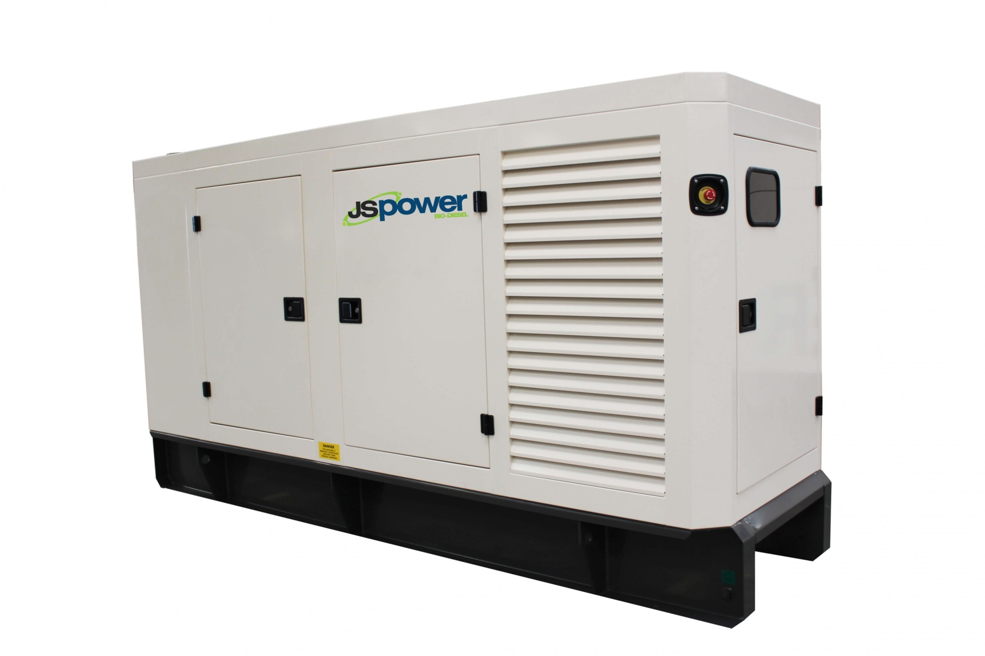 A biodiesel generator - with thanks to JS Power.