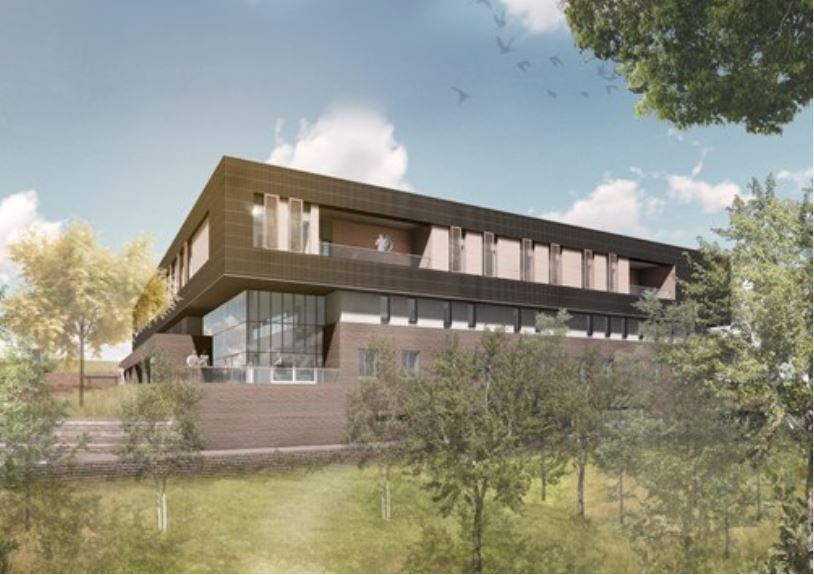 An artist's impression of the new Heatherwood Hospital