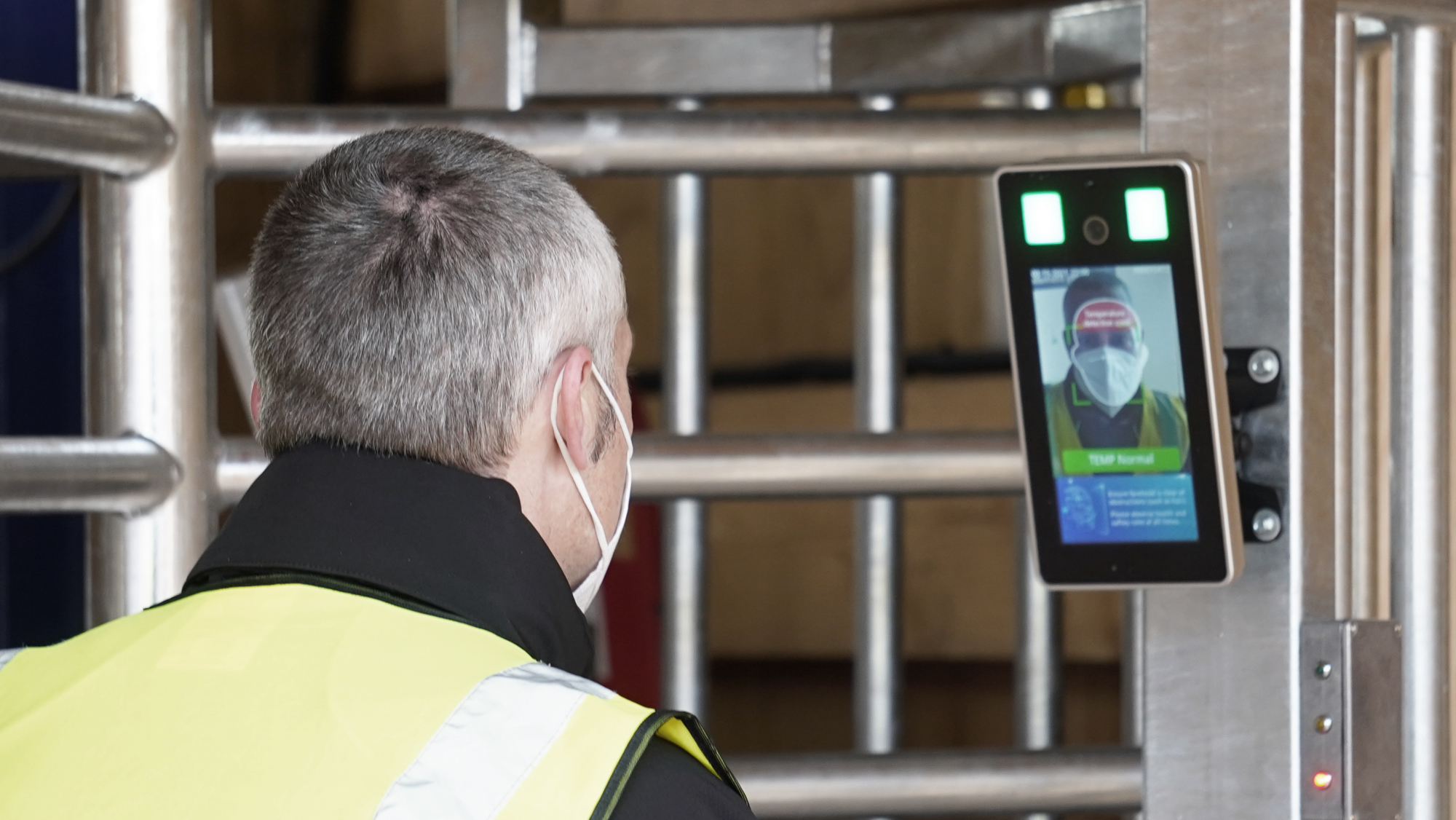 Biosite Launches Facial Recognition for Construction Site Entry