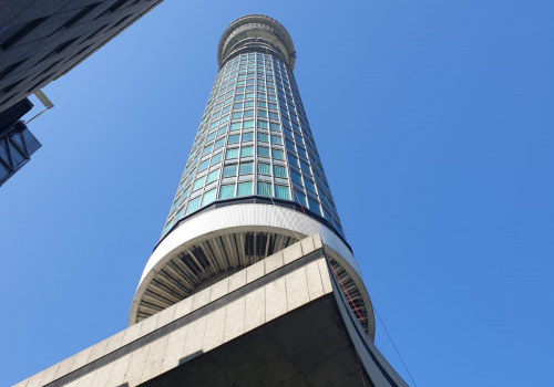 BT Tower where a team from PTSG have completed an emergency access and safety project.