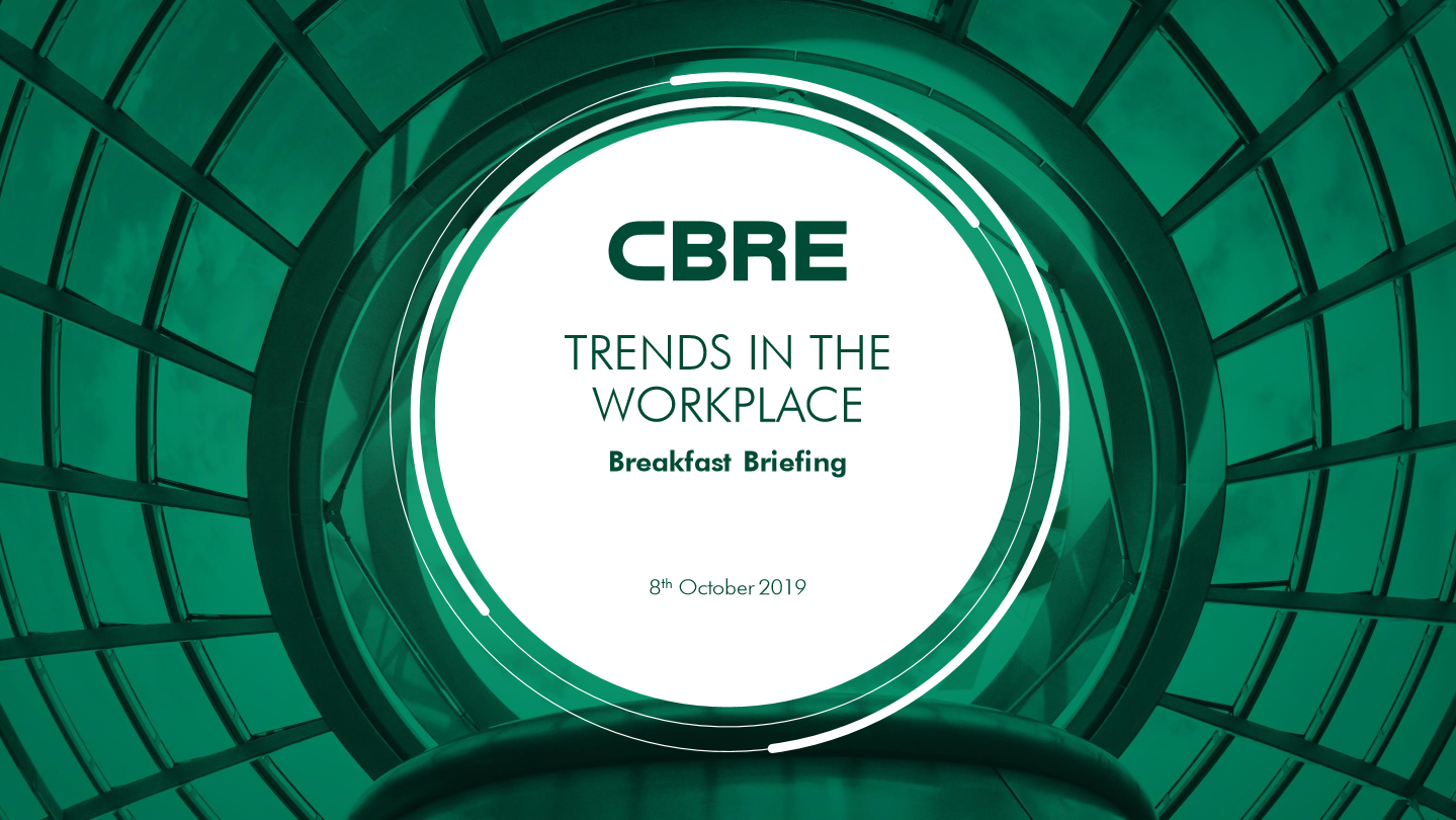CBRE Breakfast Briefing