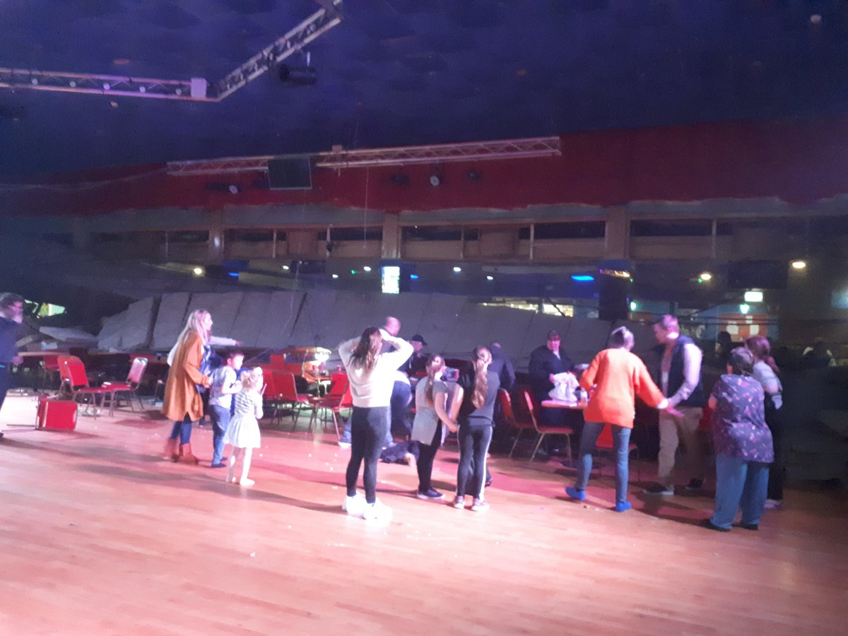 Pontins ceiling collapse