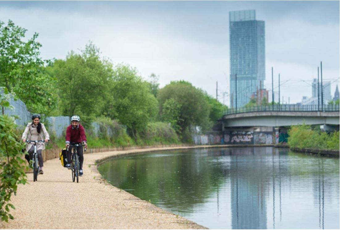 Cycle routes are to get a £21 million government funding boost