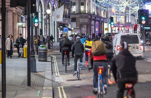 Drivers will have to be more careful around cyclists and cyclists will have to be more careful around pedestrians