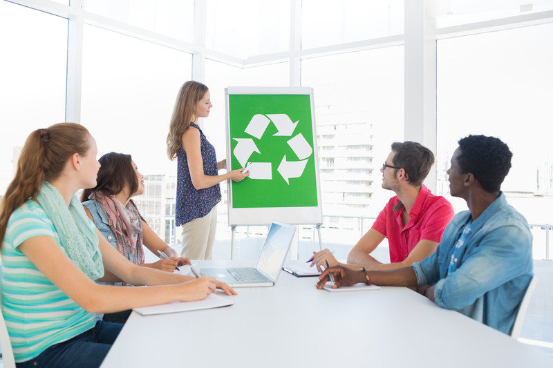 What steps can you take in the office to help our environment