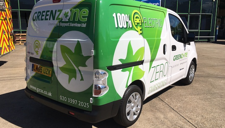 Greenzone's new Nissan ENV 200.