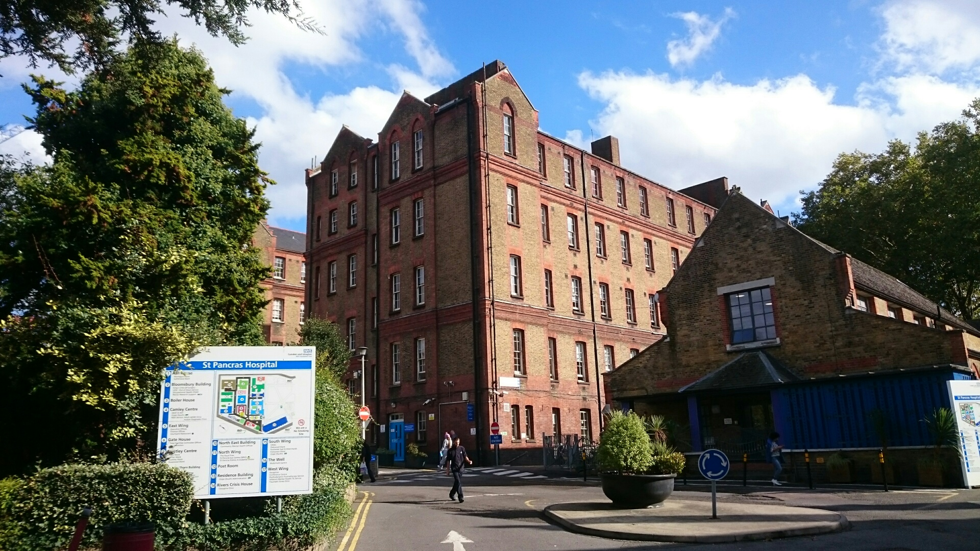 Highgate Mental Health Centre, where Camden and Islington NHS Foundation Trust has appointed ISS for a comprehensive FM contract which takes in its other London facilities