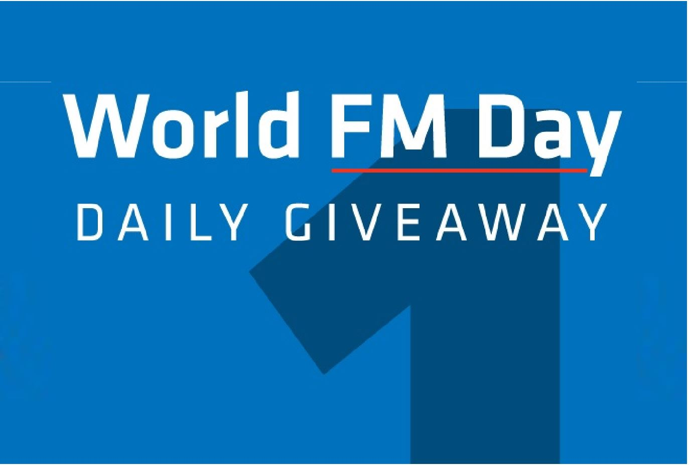 IFMA is offering a Daily giveaway from its Knowledge Library Day 1s