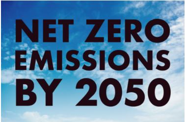 The UK will eradicate its net contribution to climate change by 2050