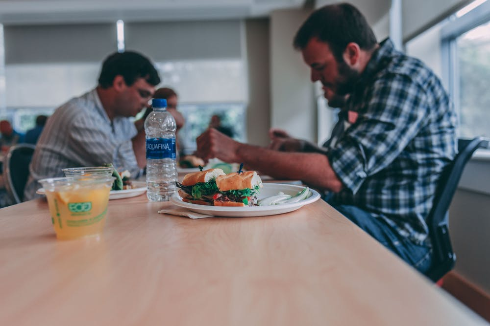 Forty per cent of UK employees would like to reduce their working hours by not taking a lunch break.