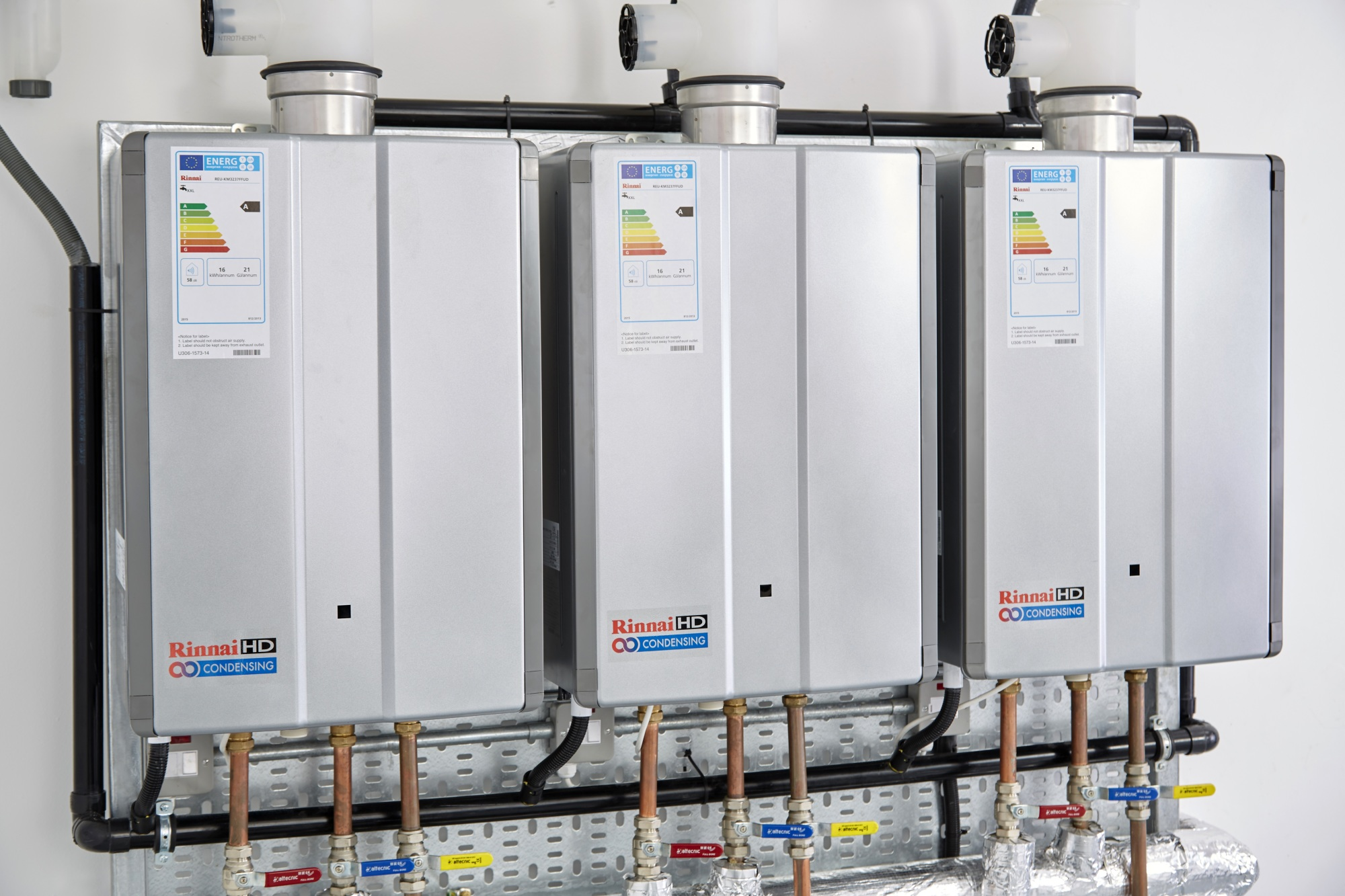 Rinnai continuous flow water heaters