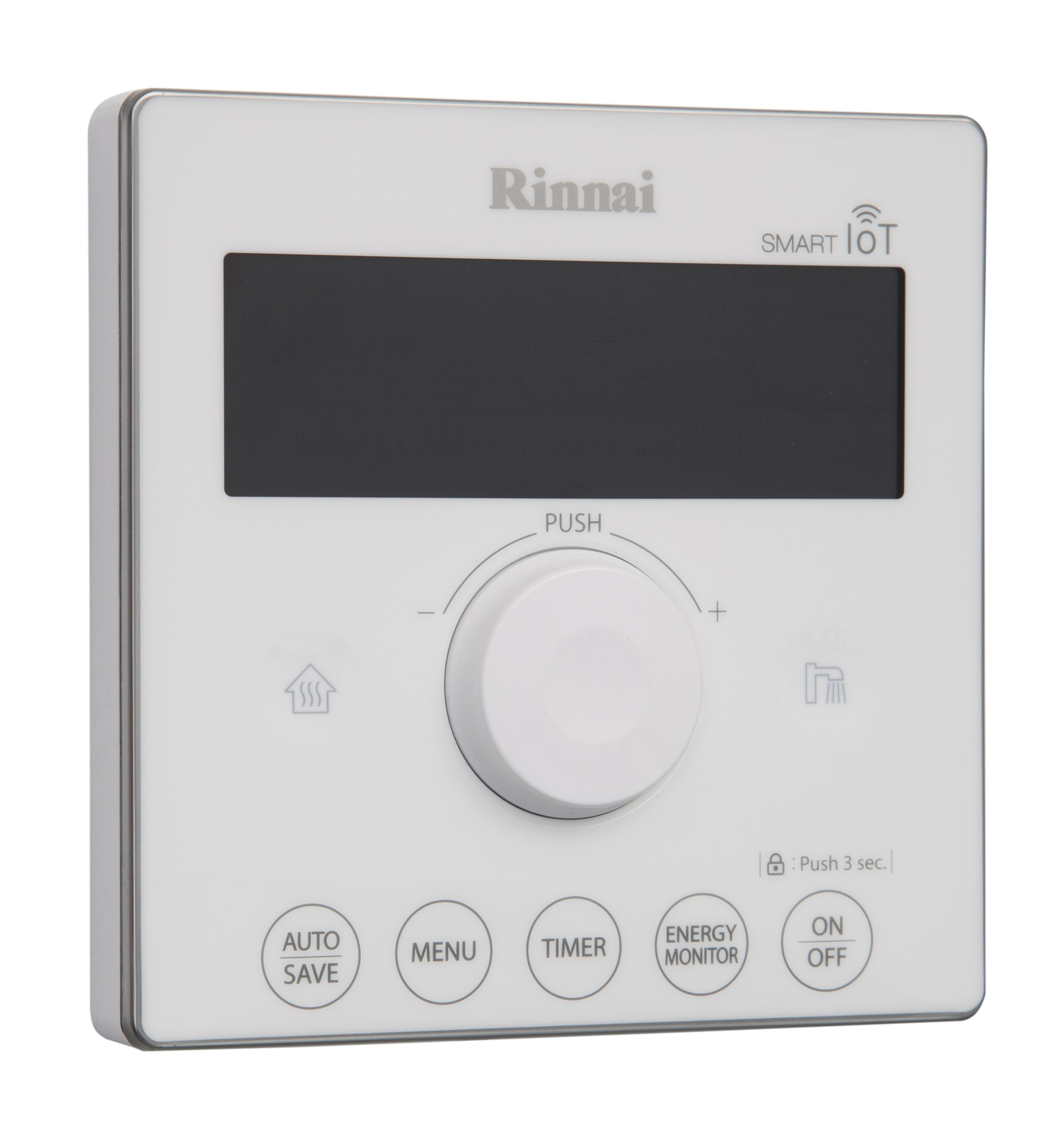 Rinnai has developed additional 'SMART' controls