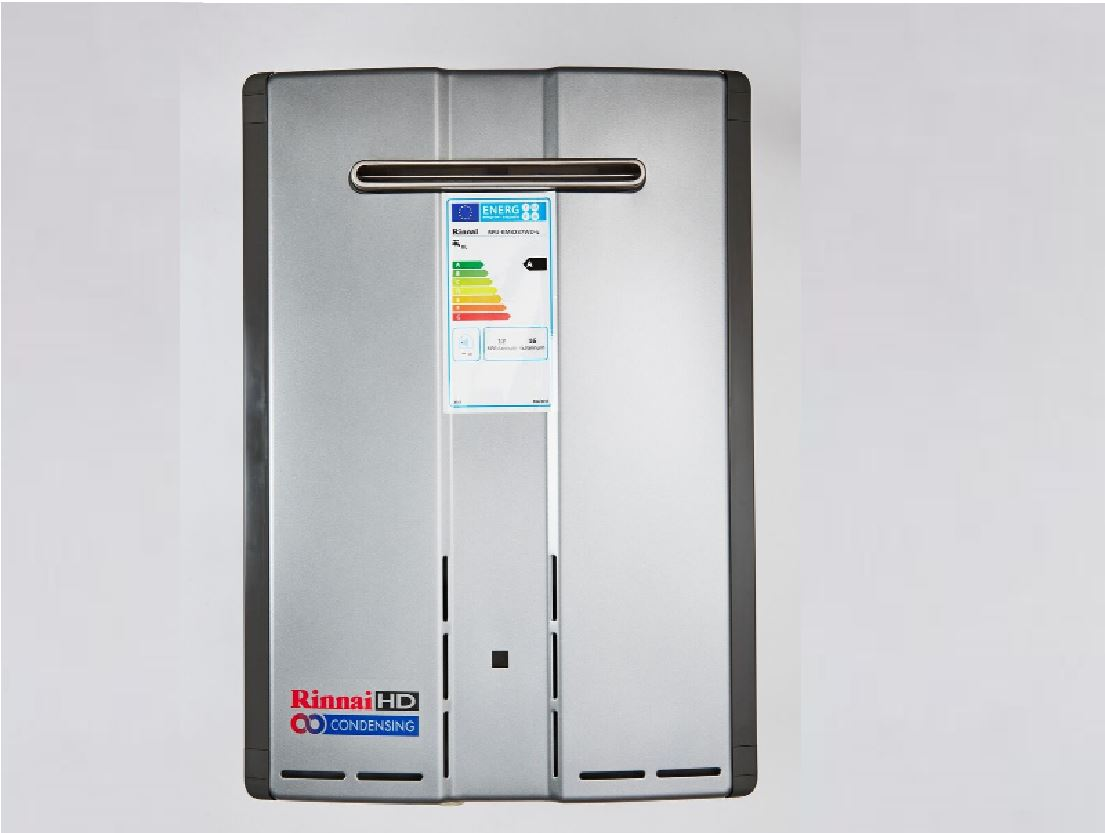 Rinnai offers big performance, heavy duty, diminutive hot water appliances.