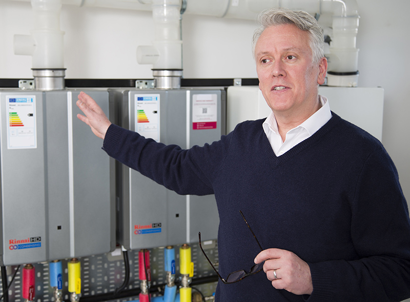 Tony Gittings, Managing Director, Rinnai UK