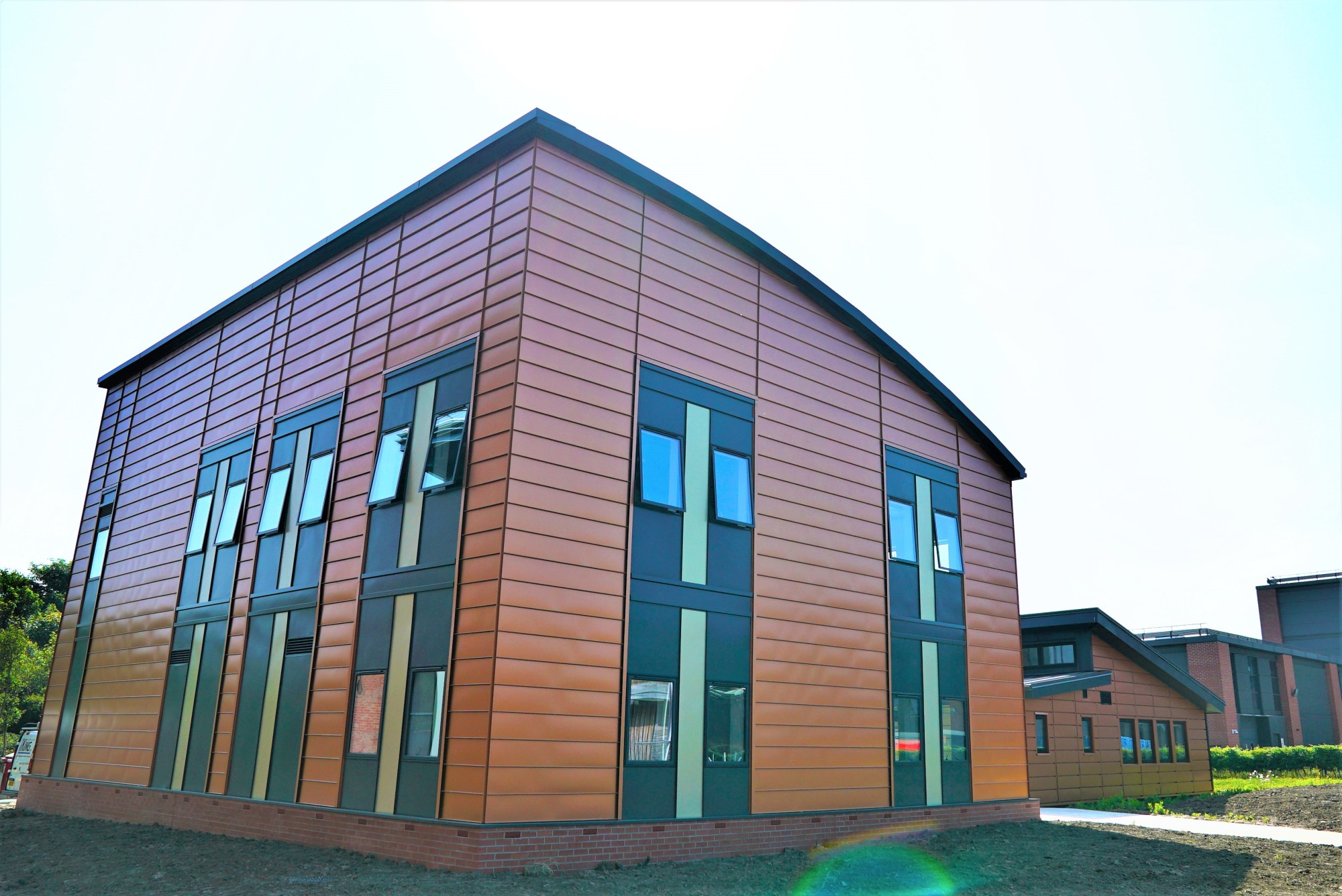 The award-winning active office is the UK's first energy positive office