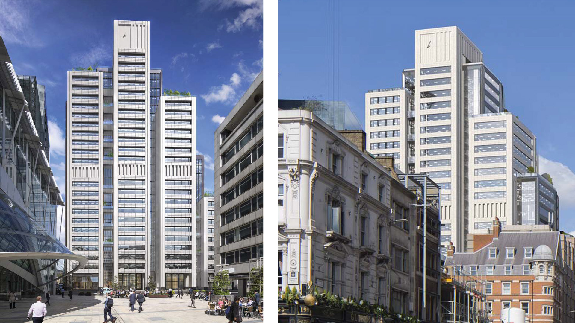 Skanska Wins Contract for 20 Ropemaker Street