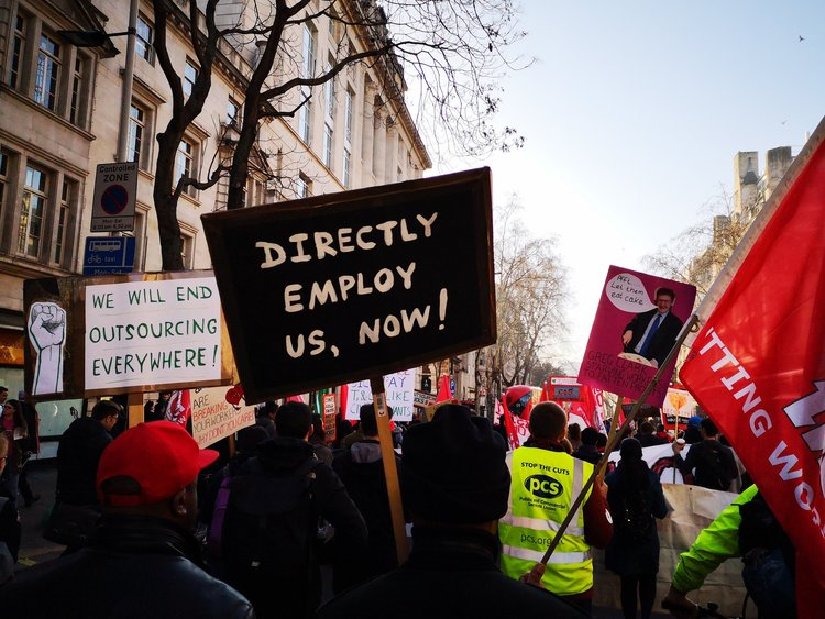 The case to have the case heard that the University of London should be considered a 'de facto' joint employer of outsourced staff has failed