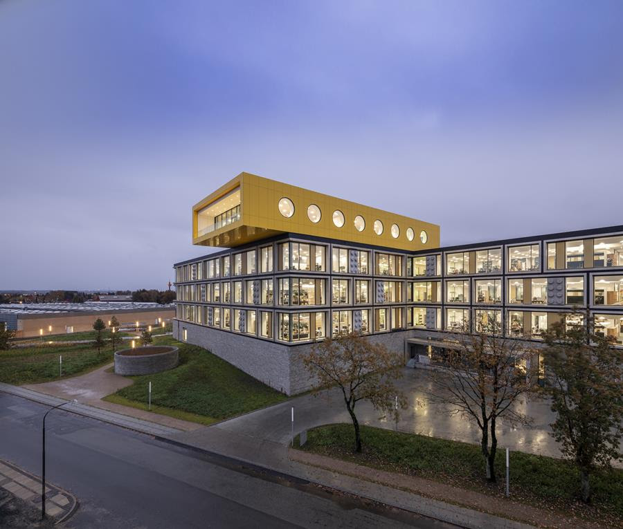 The first phase LEGO's headquarters in Billund, Denmark has opened