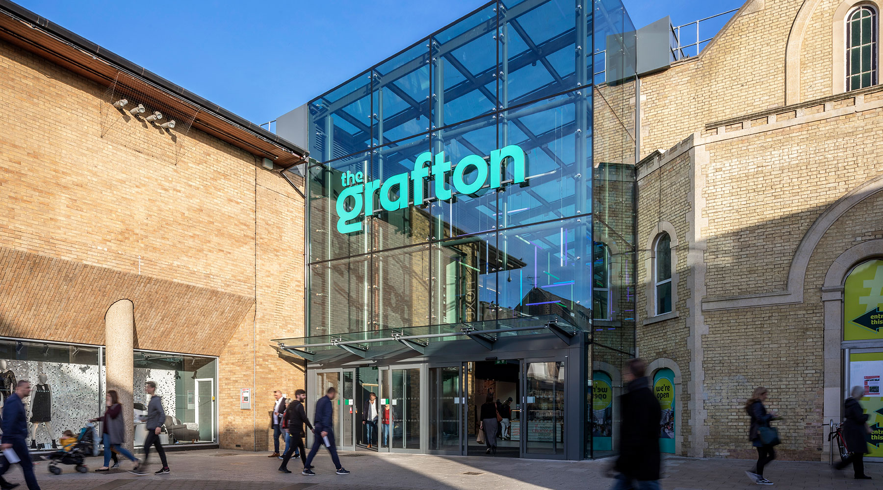First Office Space in Cambridge's The Grafton Planned