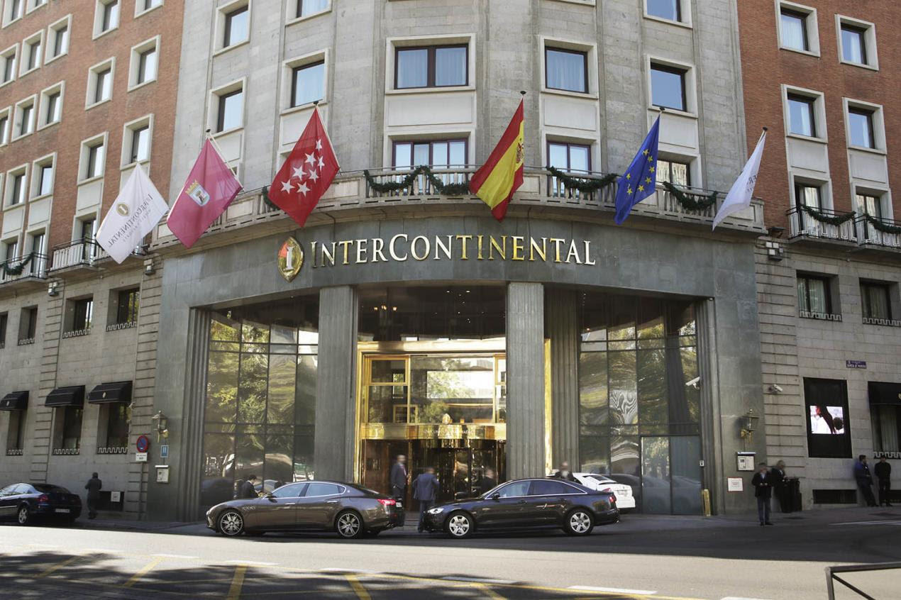 The Intercontinental Hotel in Madrid