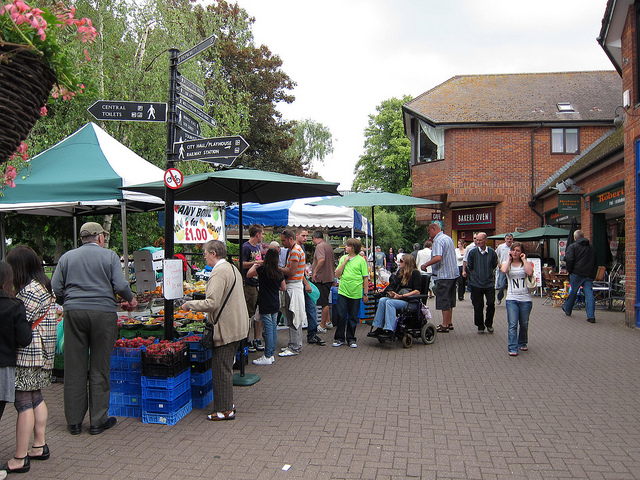 The Maltings Weekend Market