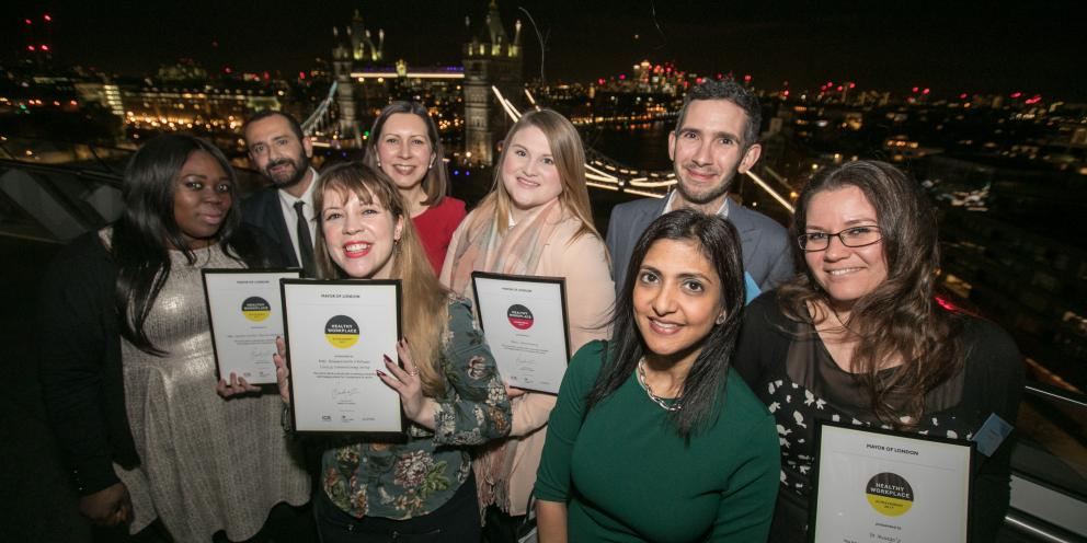 London Healthy Workplace Awards