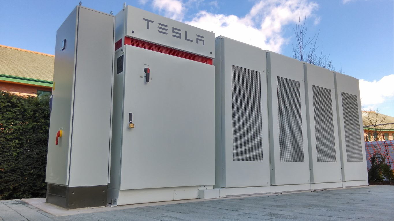 The MSP Tesla installation