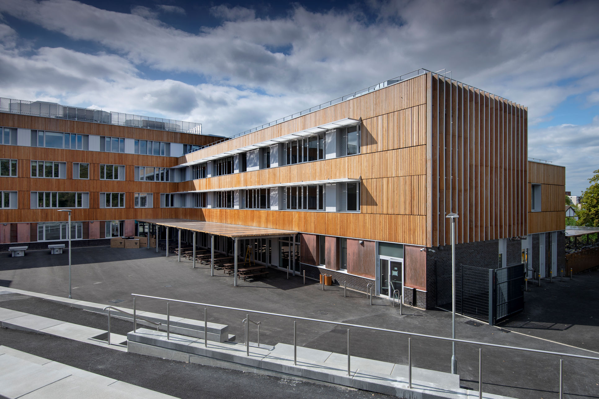 The new Passivhaus Harris Academy in Sutton, south London