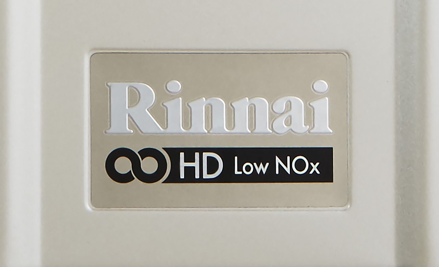 The Rinnai Infinity Solo combines continuous flow hot water and a stainless steel storage cylinder