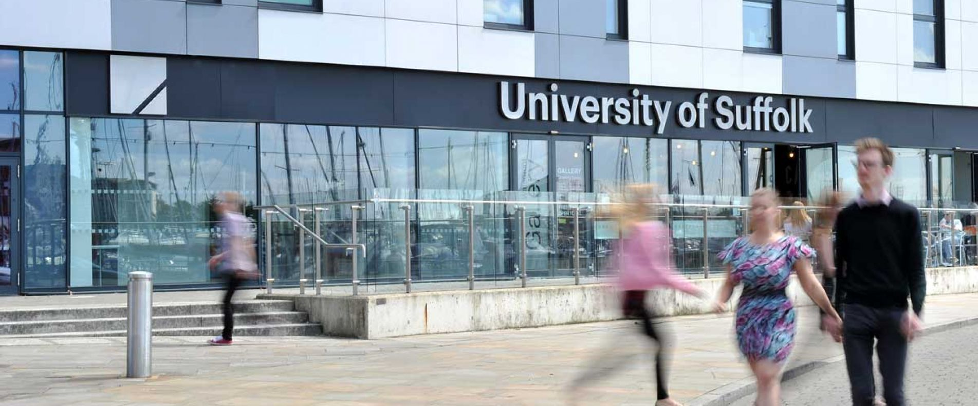 The University of Suffolk in Ipswich was evacuated on March 12 after a suspicious package was found in the post-room