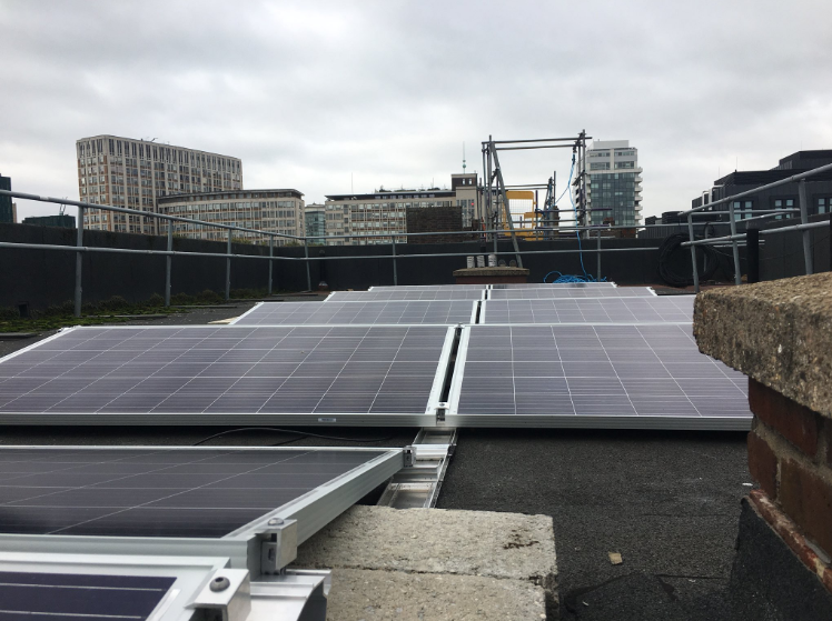 The Vauxhall Energy community energy programme has installed 65kWp of solar panels with the support of ENGIE and other contributors