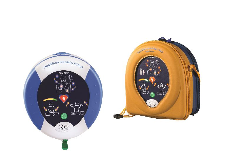 Two versions of defibrillators