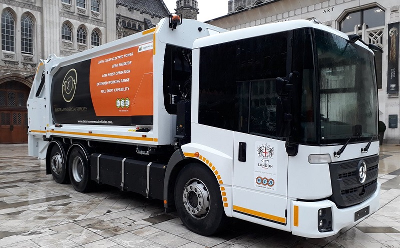 Veolia has agreed to use fully electric refuse collection vehicles