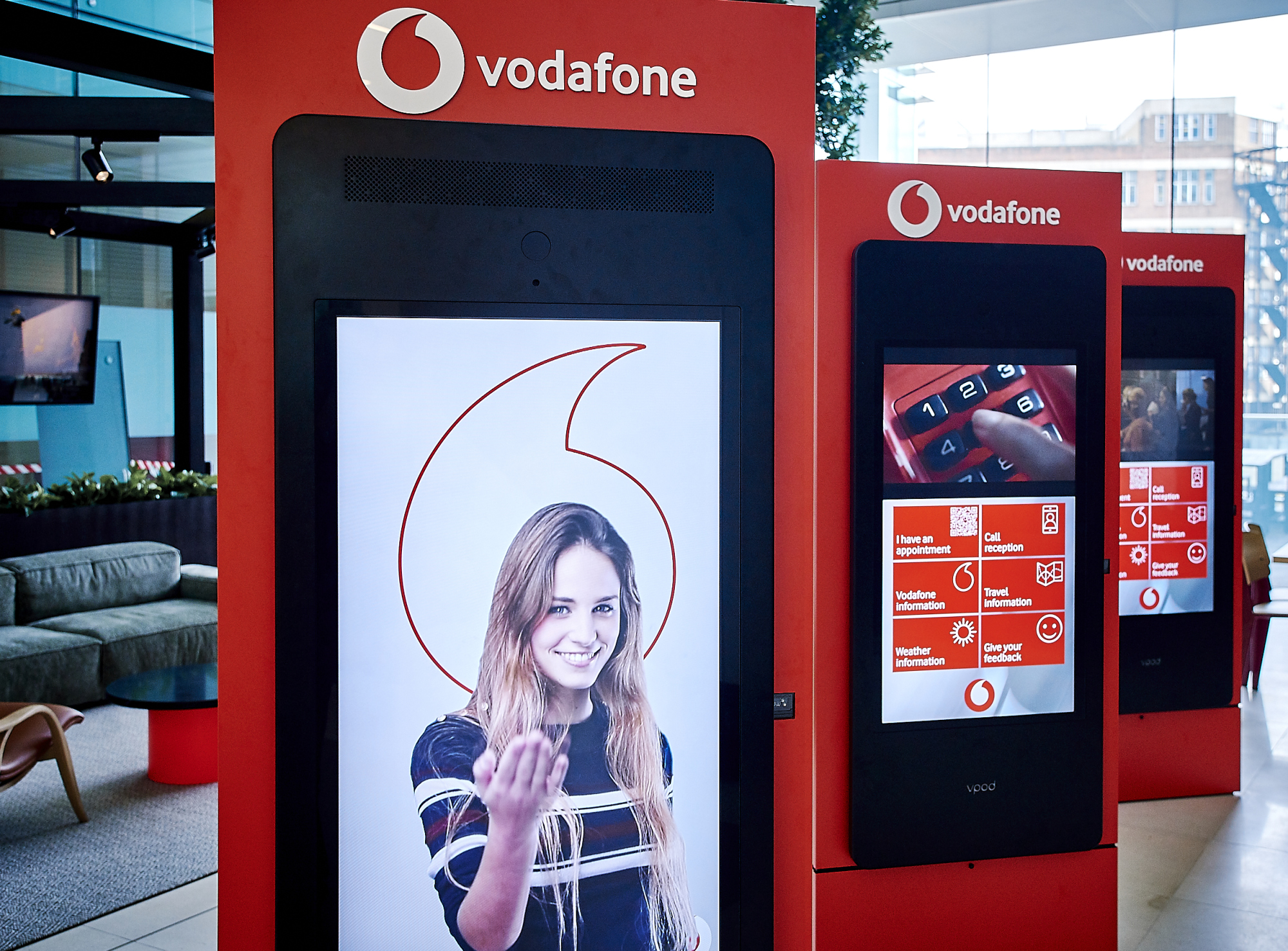 Vodafone Streamlines Visitor Management To Protect Staff