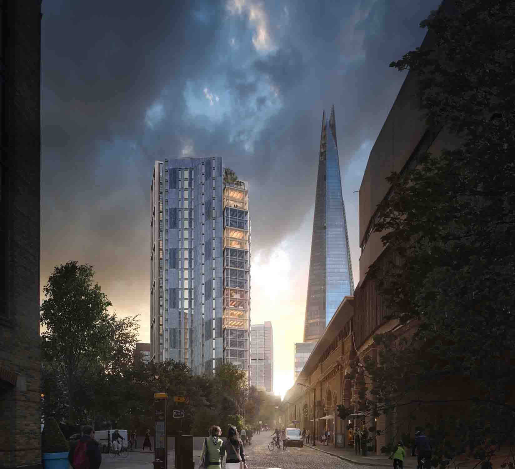 Smart Office Building Next to Shard Gains Planning Consent